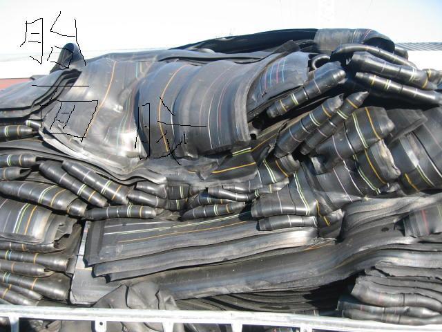 Unvulcanized rubber tire