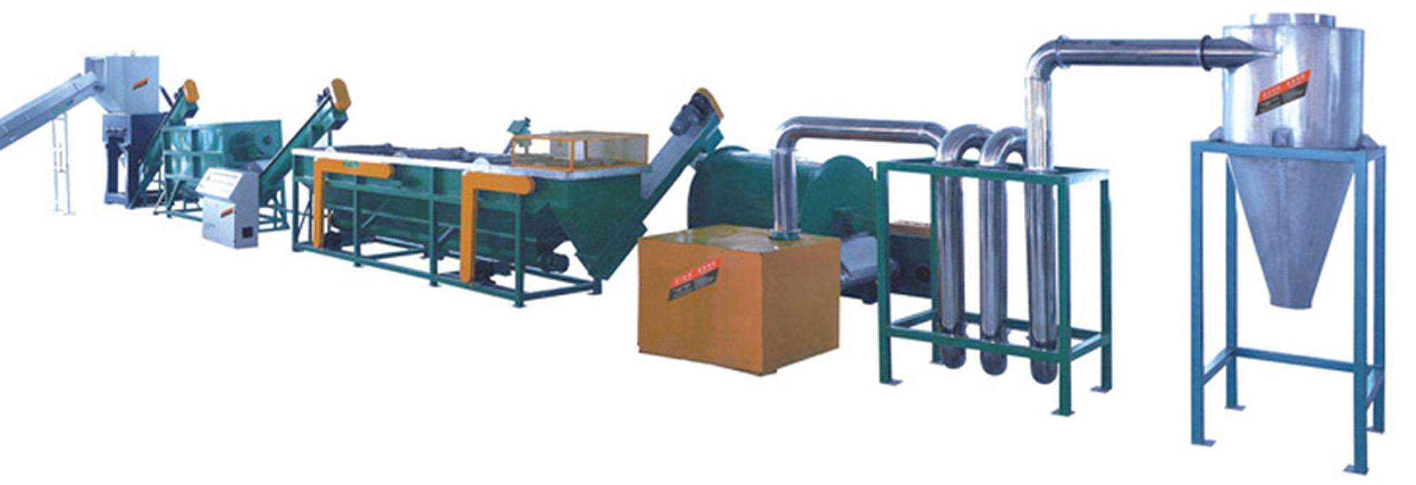 PP/PE film crushing and washing line