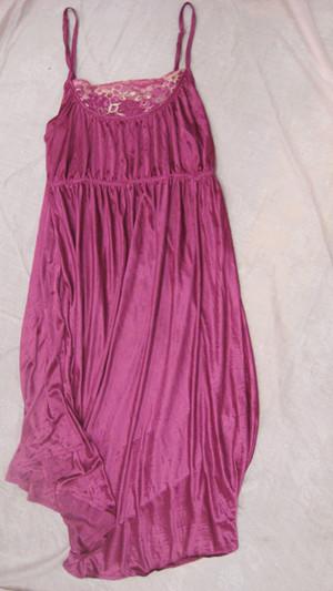 used silk night wear